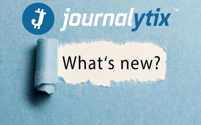 Journalytix Minor Upgrade – What's new